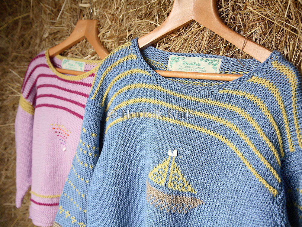 Norfolk Knits handmade Nautical Child's Jumper